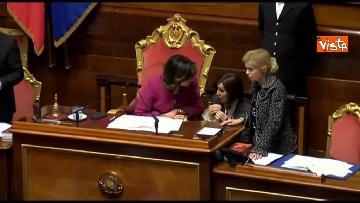 3 - Conte, question time in aula Senato immagini