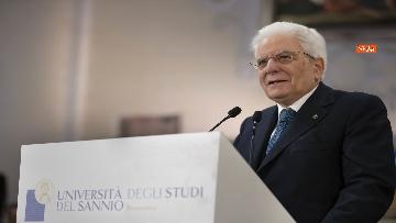 10 - Mattarella all'inaugurazione dell'Anno Accademico 2019-2020 dell'Universita del Sannio