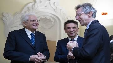 2 - Mattarella all'inaugurazione dell'Anno Accademico 2019-2020 dell'Universita del Sannio