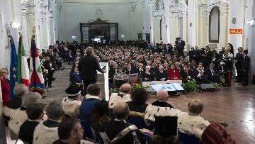 7 - Mattarella all'inaugurazione dell'Anno Accademico 2019-2020 dell'Universita del Sannio