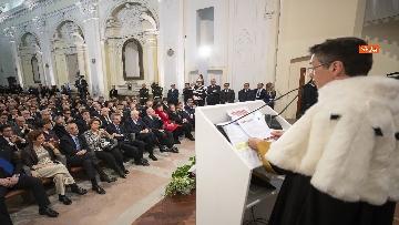8 - Mattarella all'inaugurazione dell'Anno Accademico 2019-2020 dell'Universita del Sannio