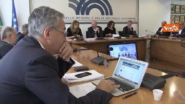 10 - Ministro Affari Regionali Stefani al primo incontro con la Conferenza Regioni immagini