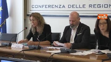 6 - Ministro Affari Regionali Stefani al primo incontro con la Conferenza Regioni immagini