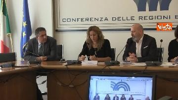 12 - Ministro Affari Regionali Stefani al primo incontro con la Conferenza Regioni immagini