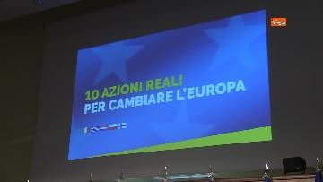 1 - Di Maio presentra il manifesto per le elezioni europee