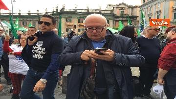 5 - Europee, Meloni chiude campagna elettorale a Napoli, il corteo per le strade della città