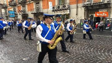 11 - Europee, Meloni chiude campagna elettorale a Napoli, il corteo per le strade della città