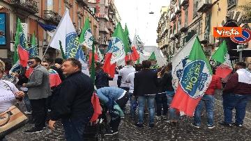 10 - Europee, Meloni chiude campagna elettorale a Napoli, il corteo per le strade della città