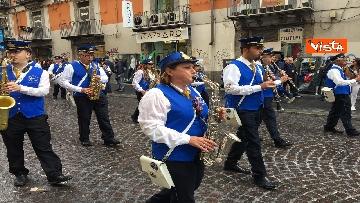 8 - Europee, Meloni chiude campagna elettorale a Napoli, il corteo per le strade della città