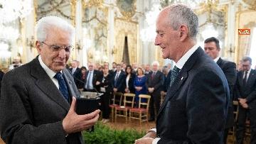 9 - Mattarella incontra rappresentanza Polizia di Stato al Quirinale