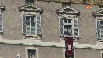 1 - Papa Francesco celebra l'Angelus in Piazza San Pietro
