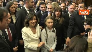 8 - Greta Thunberg al Senato della Repubblica