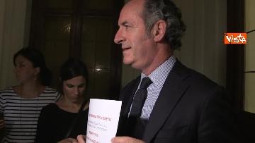 11 - Autonomia, Zaia a Roma per avviare tavolo con ministero Affari Regionali
