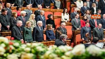 6 - Mattarella e le massime autorità dello Stato al concerto di Natale al Senato della Repubblica