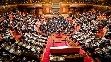 5 - Mattarella e le massime autorità dello Stato al concerto di Natale al Senato della Repubblica