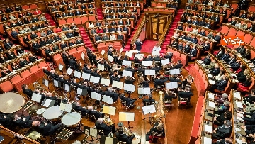 3 - Mattarella e le massime autorità dello Stato al concerto di Natale al Senato della Repubblica