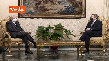 3 - Governo, Draghi arrivato al Quirinale per sciogliere la riserva