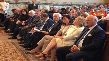 3 - Mattarella a riunione annuale Cnel europei a Roma immagini