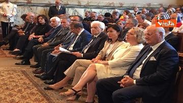 5 - Mattarella a riunione annuale Cnel europei a Roma immagini