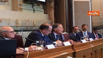 6 - Mattarella a riunione annuale Cnel europei a Roma immagini