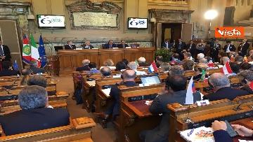 11 - Mattarella a riunione annuale Cnel europei a Roma immagini