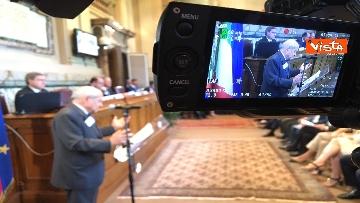 10 - Mattarella a riunione annuale Cnel europei a Roma immagini