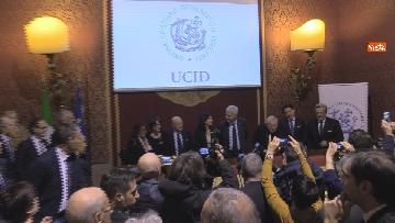 3 - Conte partecipa all'anniversario della fondazione dell'Ucid, le immagini