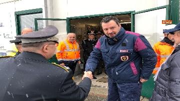 3 - Il ministro Salvini a Chiomonte visita i cantieri Tav