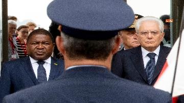 3 - Mattarella incontra il Presidente del Mozambico al Quirinale