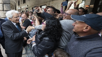 15 - 25 Aprile, Mattarella alla cerimonia per il 74° Anniversario della Liberazione a Vittorio Veneto