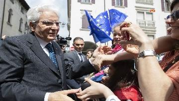 18 - 25 Aprile, Mattarella alla cerimonia per il 74° Anniversario della Liberazione a Vittorio Veneto