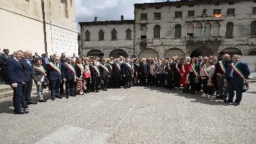 13 - 25 Aprile, Mattarella alla cerimonia per il 74° Anniversario della Liberazione a Vittorio Veneto