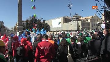 3 - La protesta dei sindacati edili a Roma