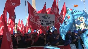 6 - La protesta dei sindacati edili a Roma