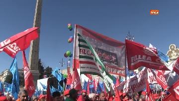 2 - La protesta dei sindacati edili a Roma
