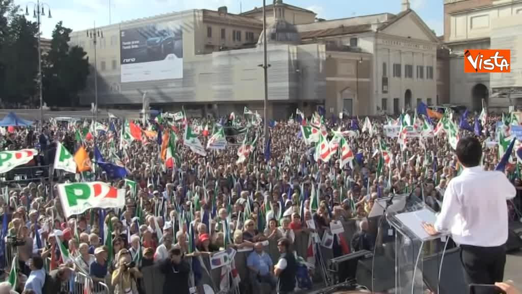 La manifestazione del PD in Piazza del Popolo_03