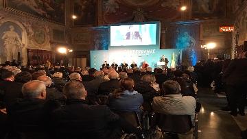 9 - Conte e Salvini ad assemblea Rete Imprese Italia immagini
