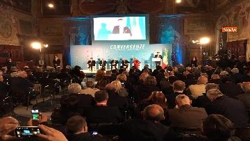 8 - Conte e Salvini ad assemblea Rete Imprese Italia immagini