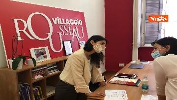 1 - Villaggio Rousseau, Raggi partecipa a 'Le Olimpiadi delle Idee' del M5s