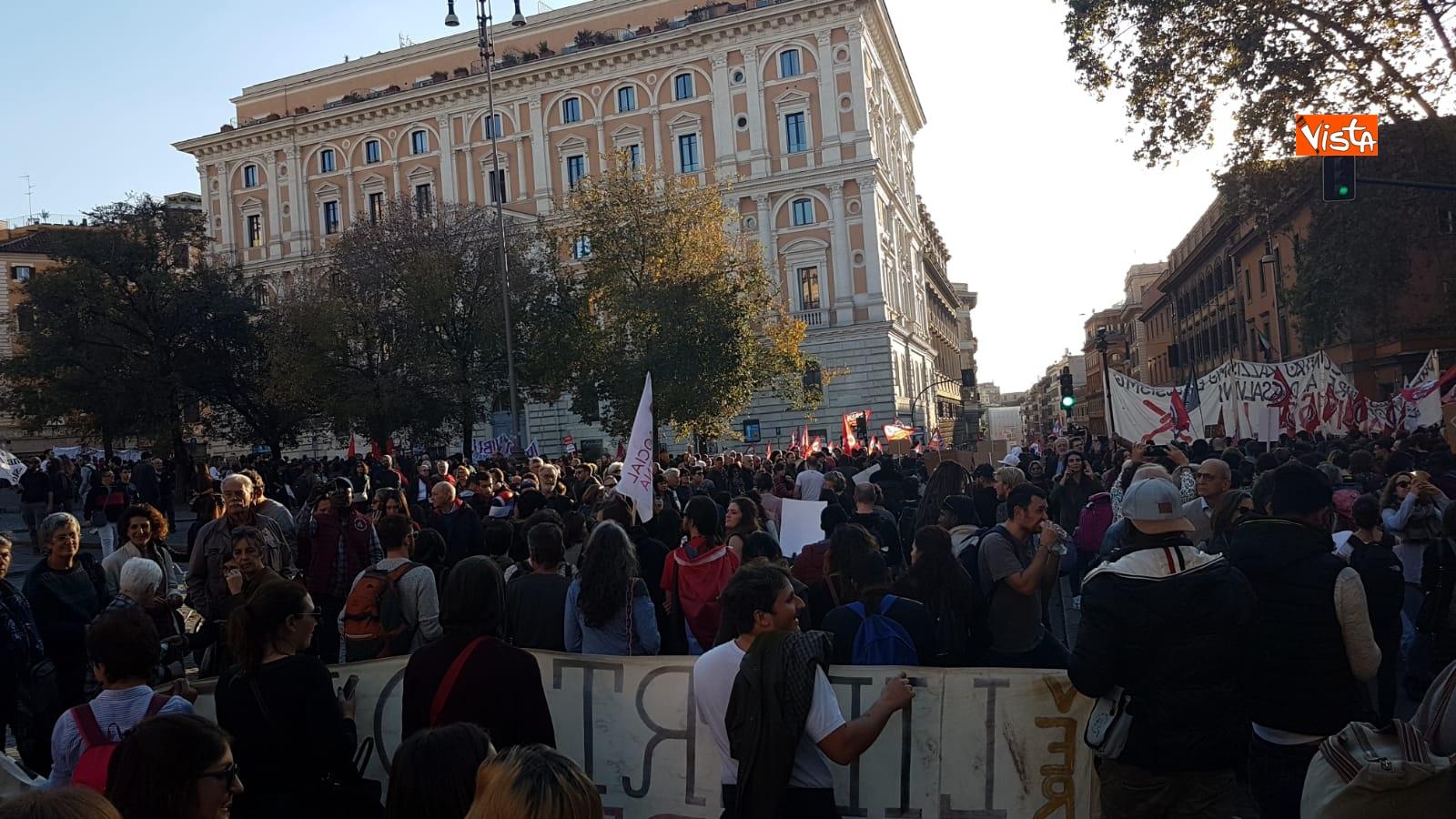 La manifestazione contro il dl Salvini a Roma_03