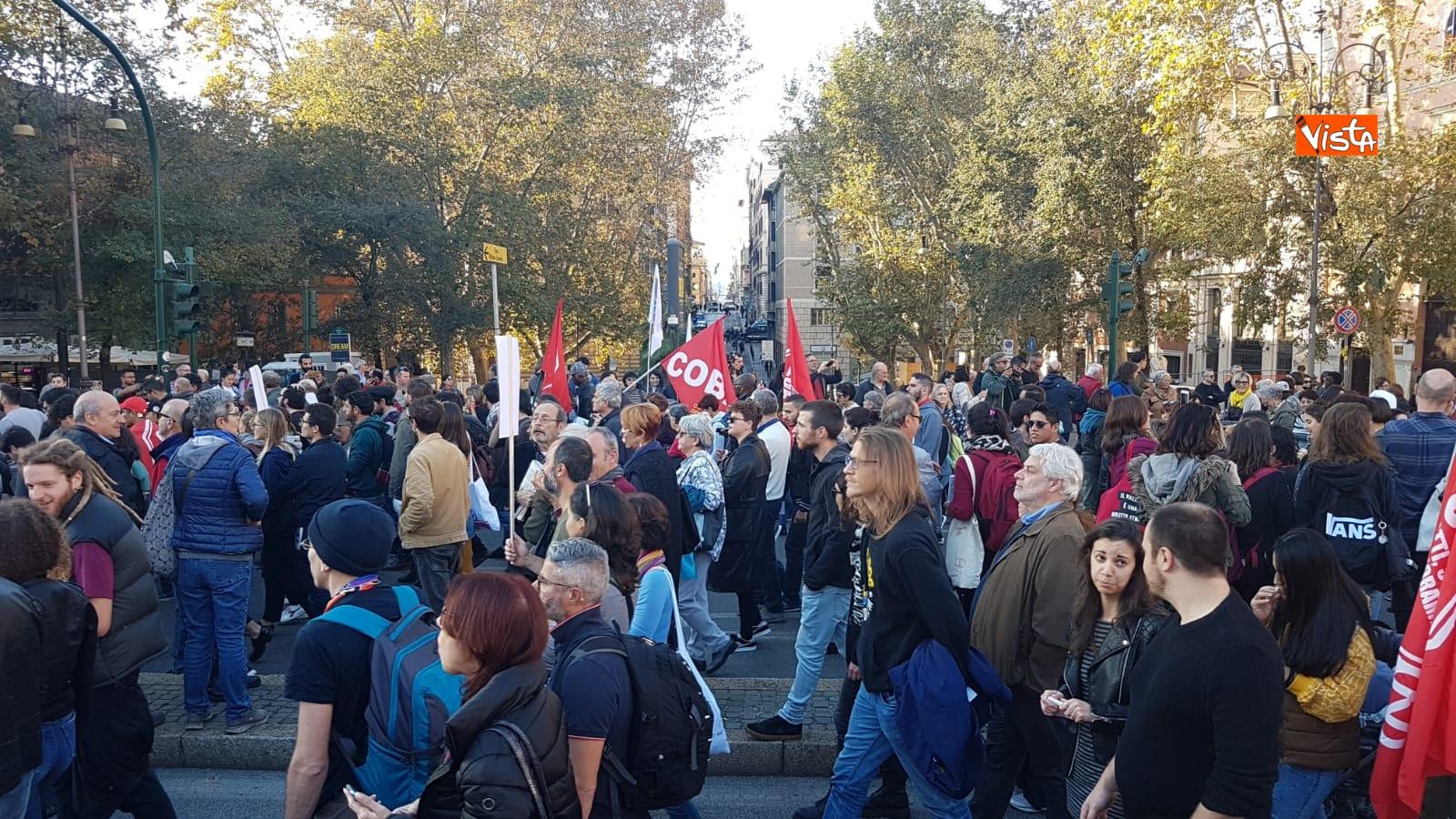 La manifestazione contro il dl Salvini a Roma_08