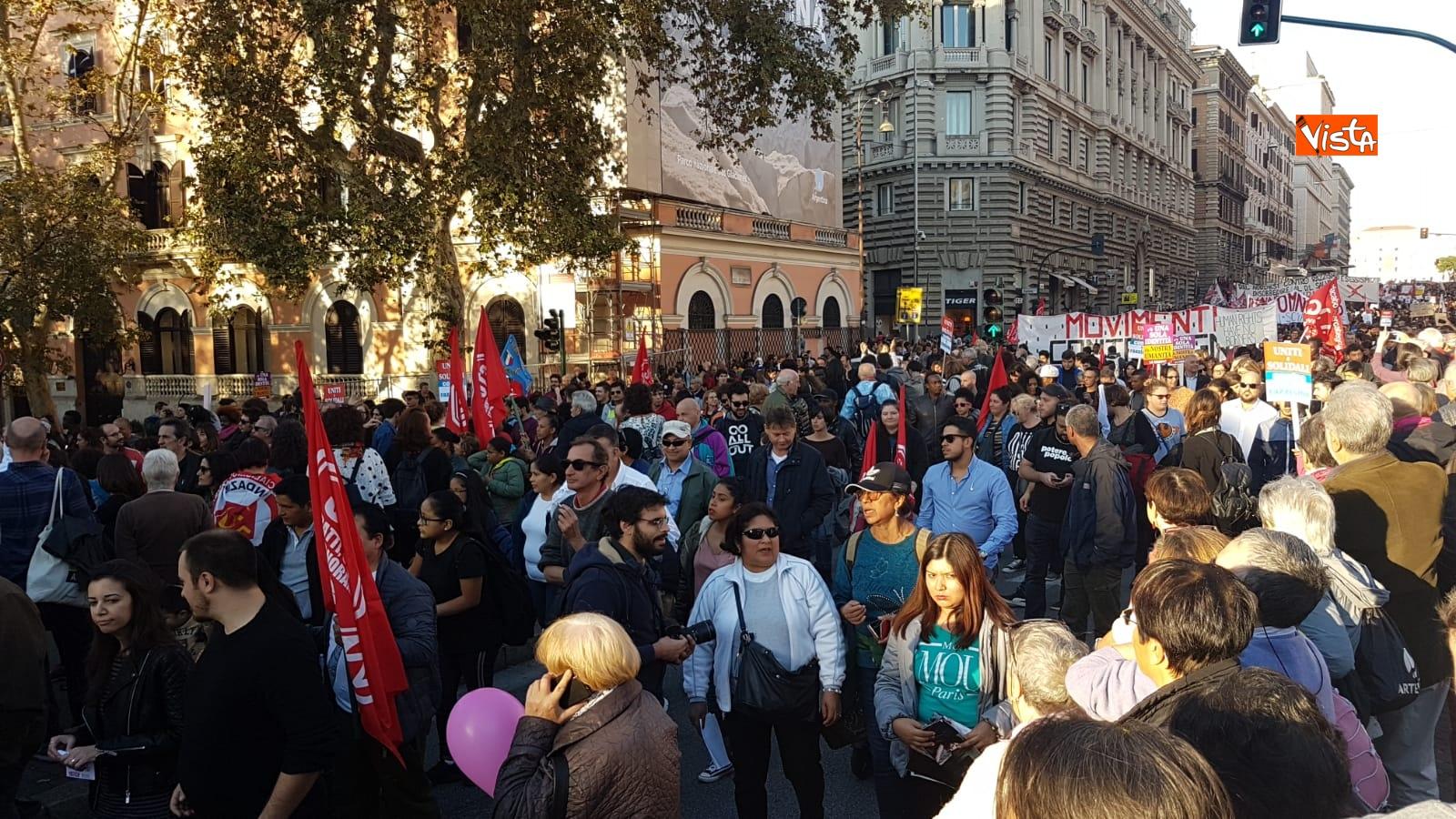 La manifestazione contro il dl Salvini a Roma_06
