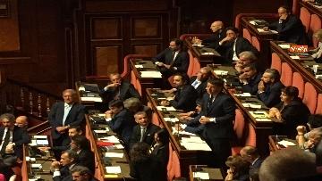 12 - L'intervento di Matteo Renzi al Senato dopo il discorso di Donte