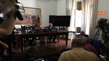 7 - Carabiniere ucciso a Roma, la conferenza degli inquirenti