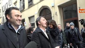 9 - Il segretario del PD Matteo Renzi vota a Firenze