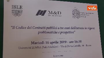 3 - Codice dei Contratti Pubblici tre anni dopo, il convegno alla Lumsa