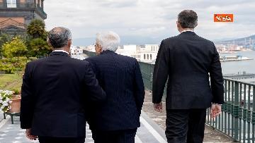 8 - Il presidente della Repubblica Sergio Mattarella a Napoli
