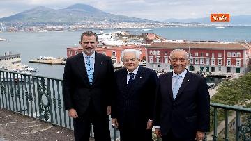 9 - Il presidente della Repubblica Sergio Mattarella a Napoli