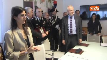 8 - Raggi e Ministro Ambiente Galletti firmano intesa per salvaguardia Riserva Litorale Romano