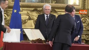 1 - Il giuramento del Ministro della Giustizia Alfonso Bonafede